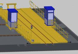 Planung Zugverschiebebühne